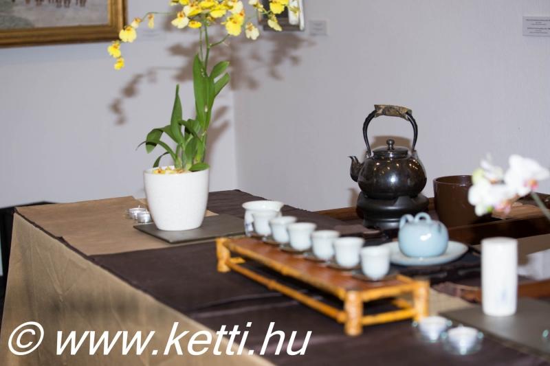 Teázáshoz felkészülni